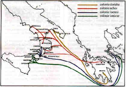 Cartina Puglia Grecia.Breve Storia Della Magnagrecia